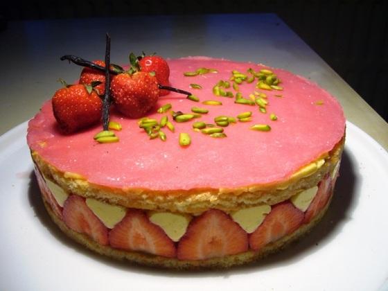 fraisier @ La pistacheraie