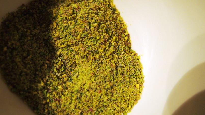 La poudre de pistache utilisée pour la recette