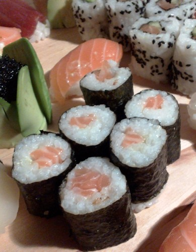 Maki sushis - saumon