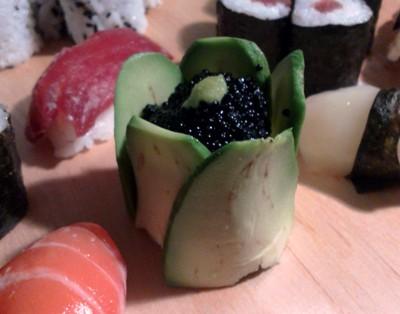 Tulip sushis - Oeufs de lump