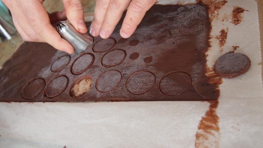 Découpage des pois cacao de la recette #11: L'Hiver