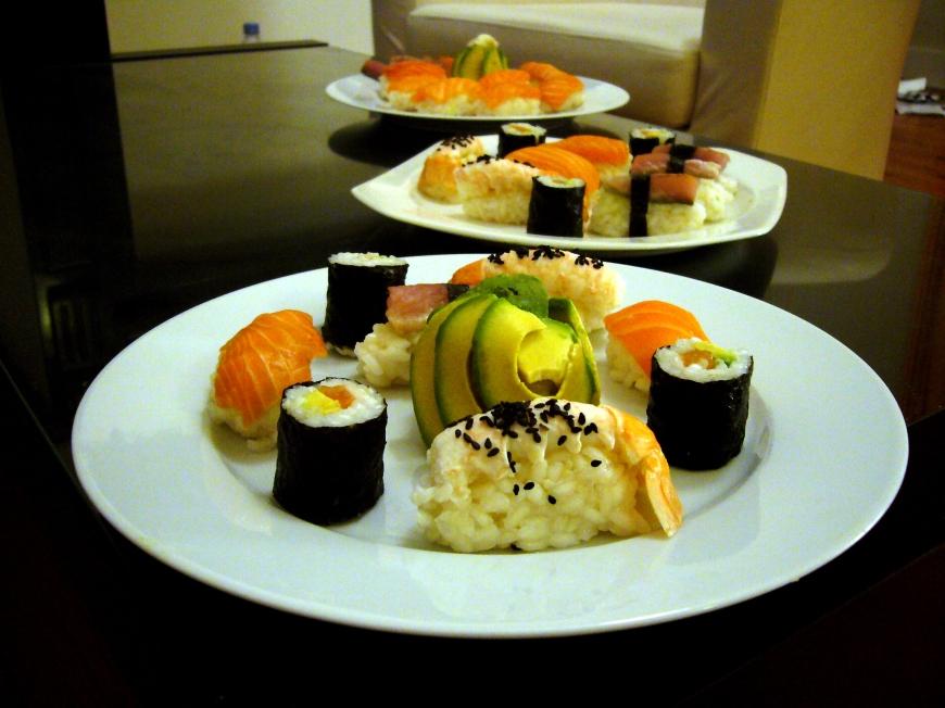 D'autres sushis !