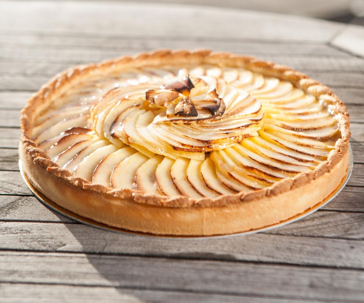 Recette 17 tarte aux pommes la pistacheraie - Dessin de tarte aux pommes ...
