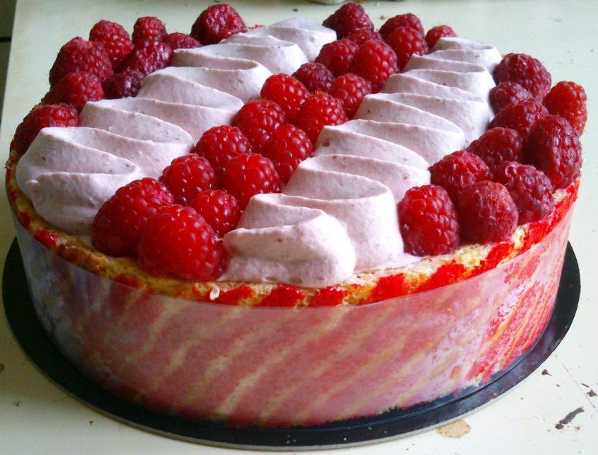 Galerie 3 2014 tartes et entremets de cet t la for Glacage miroir fraise