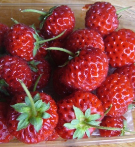 les fraises-framboises