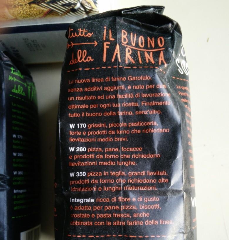 C'est en italien, mais les noms des produits sont assez transparents...