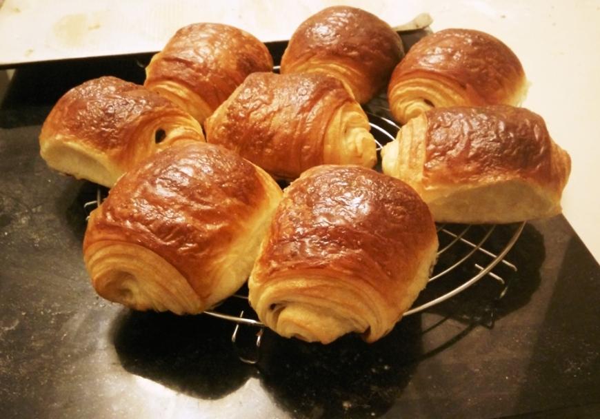 recette 35 les pains au chocolat la pistacheraie