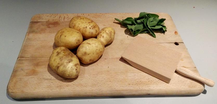 Les patates et la sauge