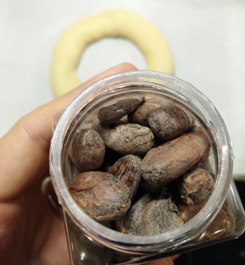 Les fèves... de cacao !